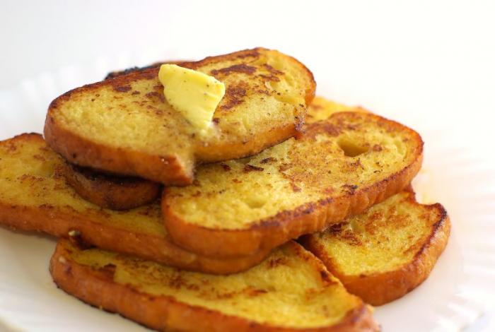 Keptas batonas aka french toast
