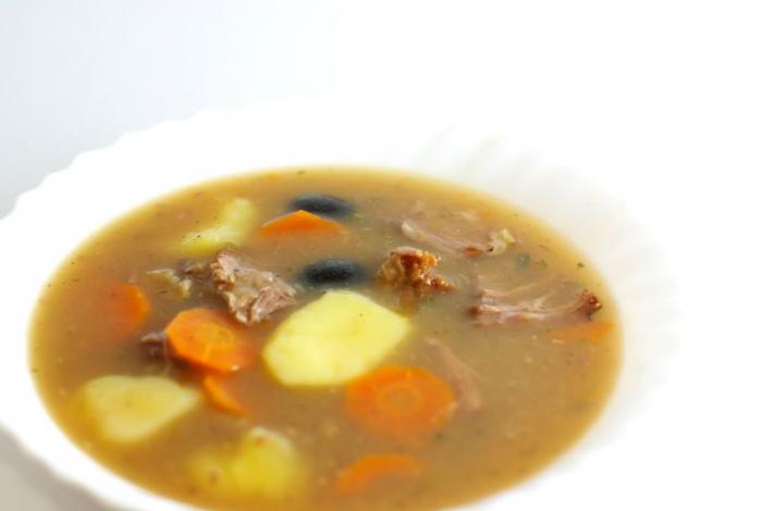Tiršta jautienos šonkaulių sriuba sualumi