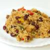 Kubietiškas ryžių ir juodųjų pupų troškinys (Congri)