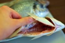 Žuvis jau be grobų ir žiaunų