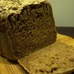 Beveik tikra juoda naminė duona