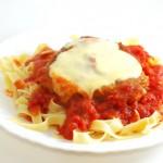 Pollo alla parmigiana – vištiena su sūriu itališkai